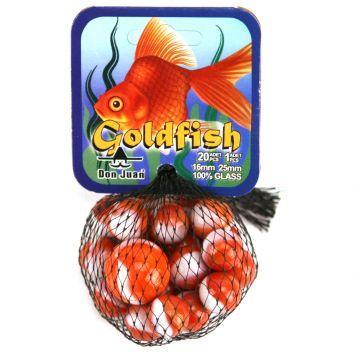 Knikkers Goldfish 20 +1 Stuks