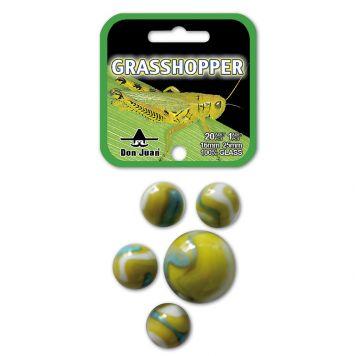 Knikkers Grasshopper 20 + 1 Stuks