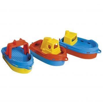 Badspeelgoed Bootjes In Net 3 Stuks Assorti