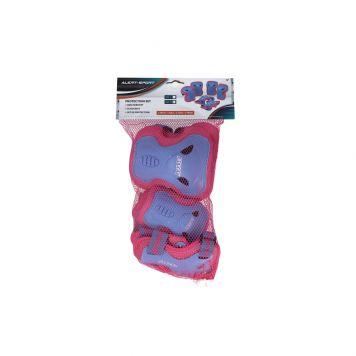 Beschermset Alert 3-Delig Roze Maat S