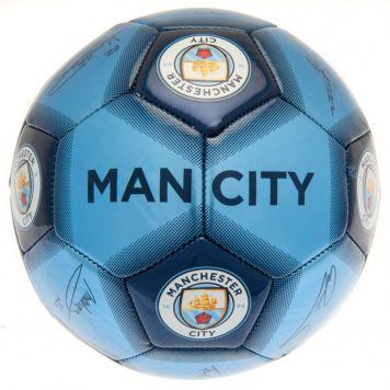 Bal Manchester City Met Logo Maat 5