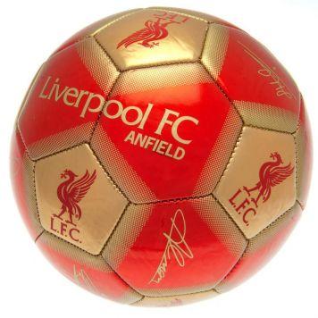 Bal Liverpool Met Logo Maat 5