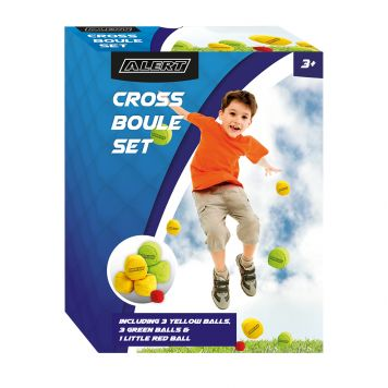 Spel Cross Boule Set Alert