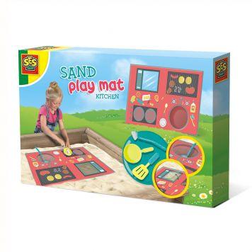 SES Outdoor Zand Speelmat Keuken