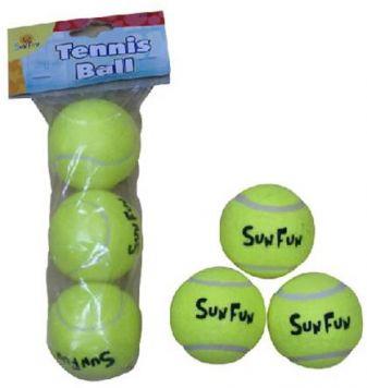 Tennisballen 3 Stuks In Polybag