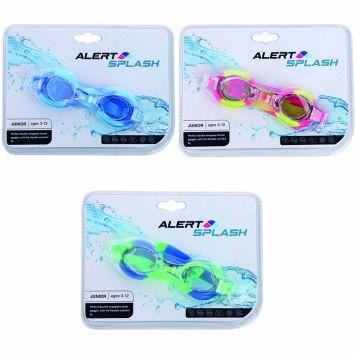 Splash Chloorbril Dubbel 3-12 Jaar Maat S/M 3 Assorti