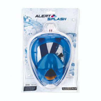 Snorkelmasker S/M Blauw Alert