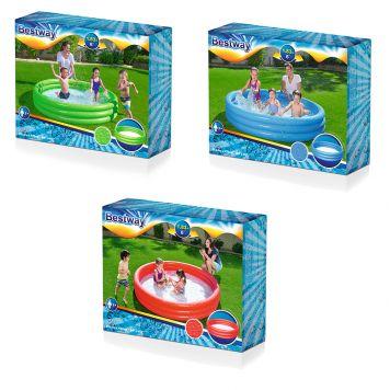 Zwembad 3-Rings 183 X 33 Cm 3 Assorti Kleuren