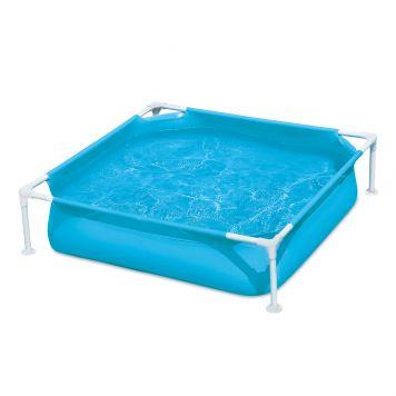 Summer Waves Zwembad Small Frame 122 X 122 X 30 cm Blauw