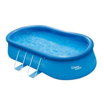 Zwembad Quick Set Oval 457 X 305 X  107 Cm
