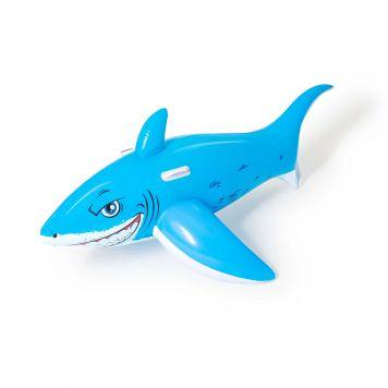 Opblaasbaar Figuur Witte Haai 183 X 102 Cm