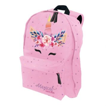 Unicorn Pink Rugtas 31X43X20 Cm