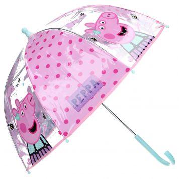 Peppa Pig Paraplu Roze 70 Cm
