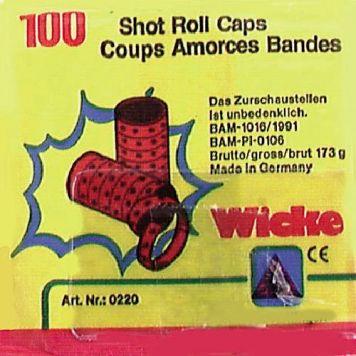 Amorces 100-Schots Voor Klappertjespistool