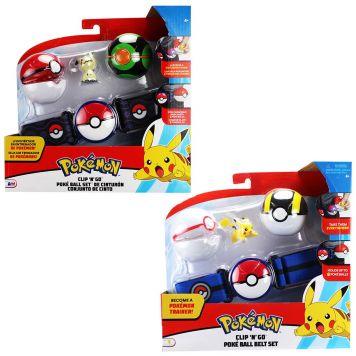 Pokemon Clip N Go Poke Ball Belt Set Wave 5