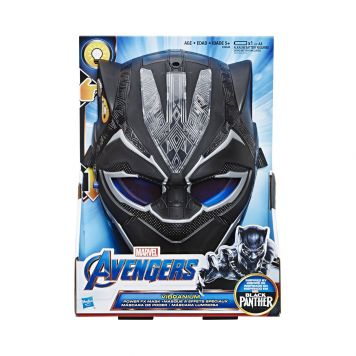 Avengers Black Panther Vibranium FX Mask