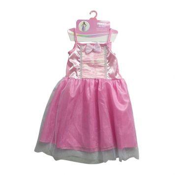 Prinsessenjurk Roze 6-8 Jaar