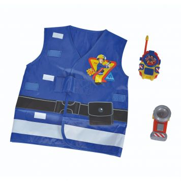 Brandweerman Sam Verkleedset Battery Operated