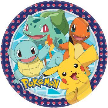 Pokemon Borden 23cm 8st