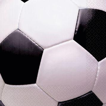 Goal Voetbal Servetten 33cm 16st