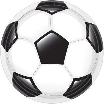 Goal Voetbal Borden 23cm 8st