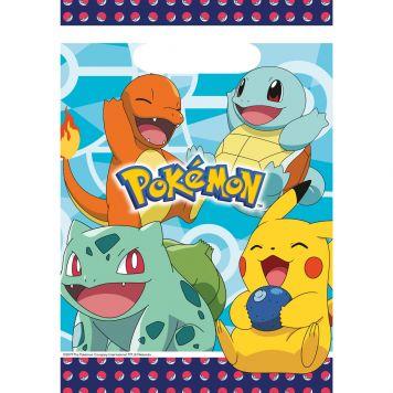 Pokemon Uitdeelzakjes 8st