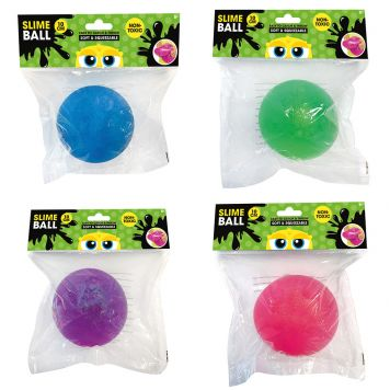 Slime Bal 10 Cm Assorti