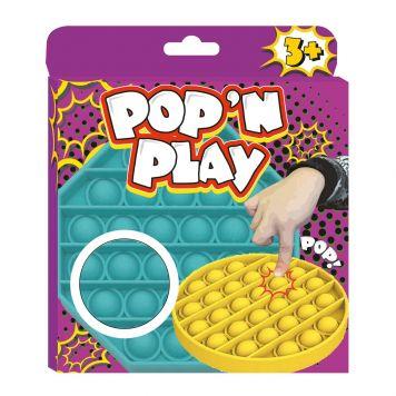 Stress Pop'N Play Fidget Vierkant 4 Assorti
