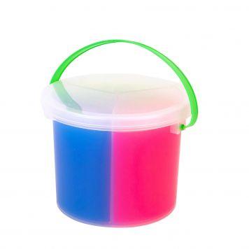 Slime 3 Kleuren in Emmer +/- 1.5 KG