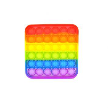 Stress Pop'n Play Vierkant Multicolor