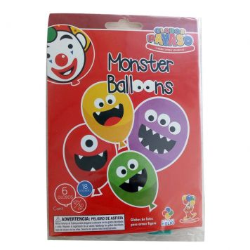 Ballon LED En Stickers Assorti