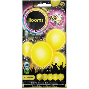 Illooms Yellow 5 Pack
