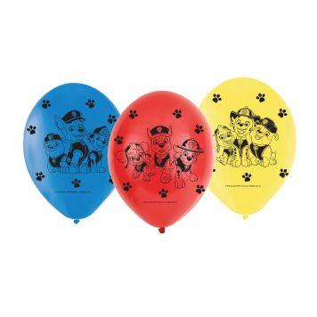 Paw Patrol Ballonnen 23cm 6st