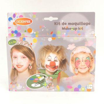 Schminkset Meisjes 6 Kleuren