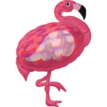 Ballon Folie Super Flamingo 71 X 83 CM