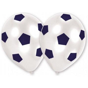 Goal Voetbal Ballonnen 25cm 8st