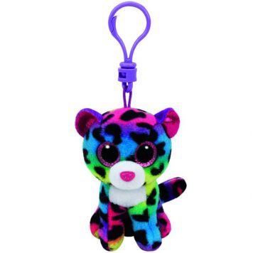Sleutelhanger Ty Beanie Multi Kleur Luipaard Dotty