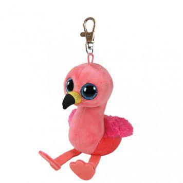 Sleutelhanger Ty Beanie Flamingo Gilda