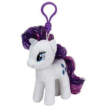 Sleutelhanger Ty Beanie My Little Pony Rarity 10cm