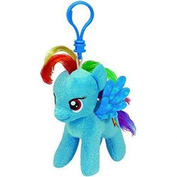 Sleutelhanger Ty Beanie My Little Pony Rainbow Dash 10cm
