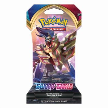 Pokémon Sword & Shield Sleeved Booster