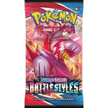 Pokemon TCG Battle Styles Booster