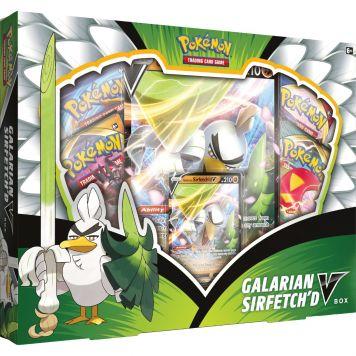 Pokemon TCG Galarian Sirfetch'd V-Box