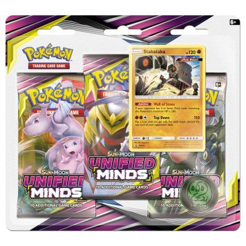 Pokémon Sun & Moon U Minds 3-boosterblister Assorti