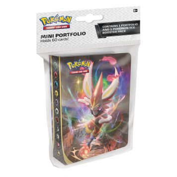 Pokémon Sword & Shield  Rebel Clash Col. Album + Booster