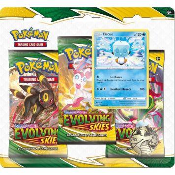 Pokémon TCG Evolving skies 7 3-Boosterblister  Assorti Evolving skies