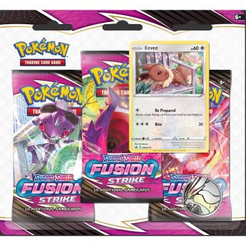 Pokémon TCG Sword & Shield FusionStrike 3-B.blist. Assorti