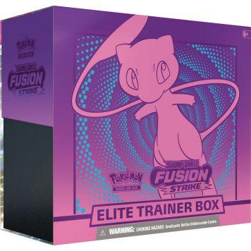 Pokémon TCG Sw & Sh Fusion Strike El. Trainer Box Assorti