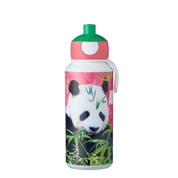 Mepal Drinkfles Pop-Up Animal Planet Panda 400 ml