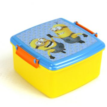 Lunchbox Minions Met Dubbele Clip